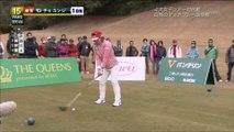 【ゴルフスイング】世界の女子プロゴルファーのスイング ~The Swing of Women's Professional Golfer at The Queens2015~