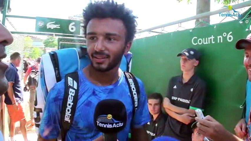 Roland-Garros 2017 - Maxime Hamou dans le grand tableau de Roland-Garros et envoie balader les médias