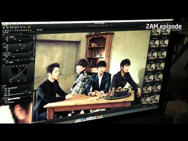 [Episode] 2AM Jacket Shooting Sketch
