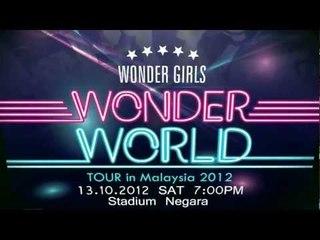 [콘서트] Wonder World Tour in Malaysia 2012