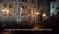 Tournage des petits meurtres d'Agatha Christie à Tournai