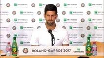 "Roland-Garros - Djokovic : ""Agassi est une grande inspiration pour moi"""