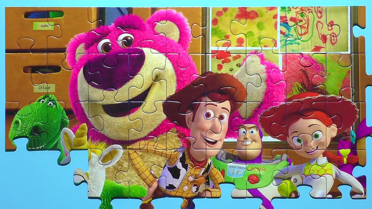 Learn PuzzlSTORY Potato Head, Woody, Buzz Lightyear,