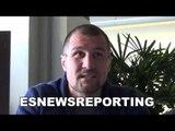 kovalev on getting so many ko wins 25 of 28 fights! EsNews Boxing
