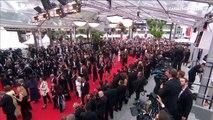 """Lucien Jean-Baptiste """"J'ai une pensée pour Bernadette Lafont qui nous a quittés"""" - Festival de Cannes 2017"""