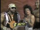 Macho Man Randy Savage - Tiny Zeus Lister - Sensational Sherri  Promo vs Hulk Hogan & the Hulkamaniacs