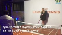 Roland-Garros 2017 - Quand Timea Bacsinszky tape la balle avec Tennis Actu et Tennis Legend !