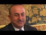 Roma - Mattarella incontra il Ministro degli Affari Esteri della Turchia (24.05.17)