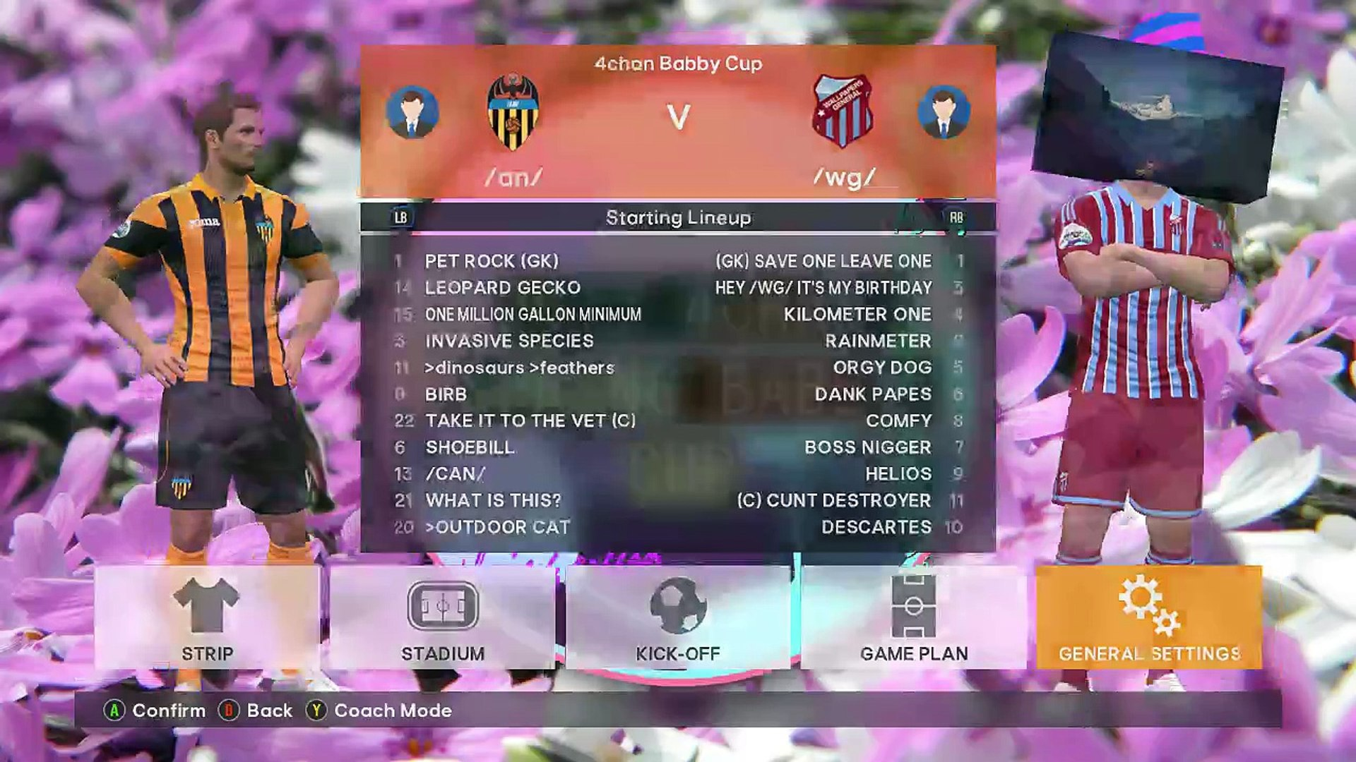 2017 4chan Spring Babby Cup Group F An Vs Wg Part 2 2 Video Dailymotion