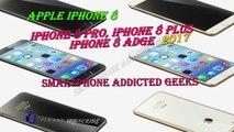 iPhone 8 - iPhone 8 Edge - iPhone 8 Plus - iPhone 8 Pro 2017