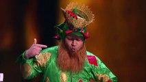 Piff The Magic Dragon - Comedian Makes Christmas Magic with Penn & Teller - America's Got Tale