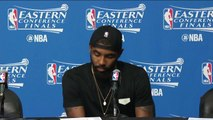 【NBA】Kyrie Irving Postgame Interview Celtics vs Cavaliers Game 5 May 25 2017 2017 NBA Playoffs