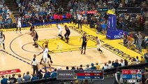 NBA 2K17 Stephen Curry,Kevin Durant & Klay Thdsaompson Highlights