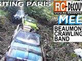 Franchissement 4x4 Rc Scale Crawler Paris : Rencontre Beaumonts Crawling Band