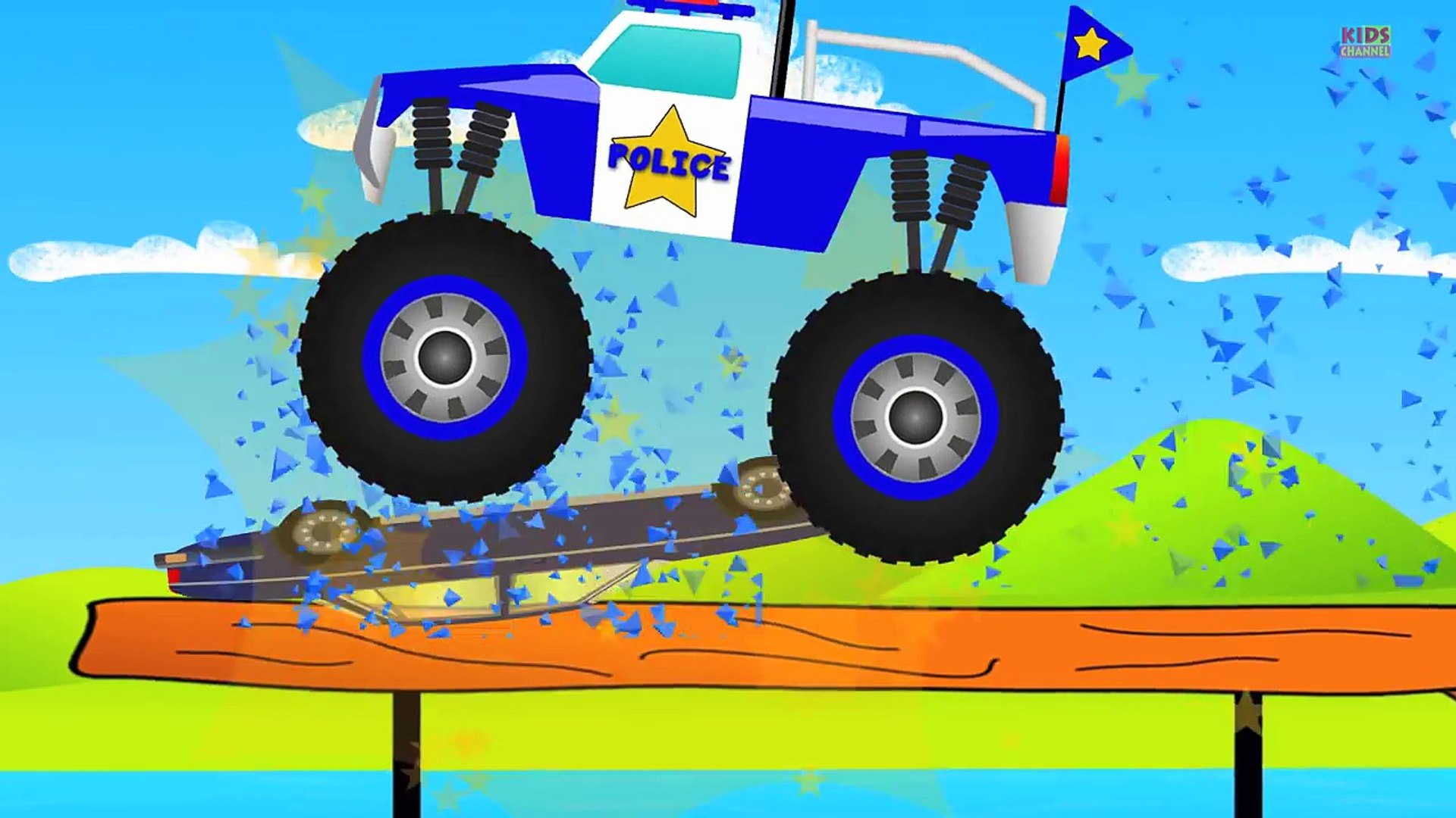 Monster Truck Compilation Kids Videos Baby Video Video Dailymotion