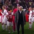La conversation géniale entre Justin Kluivert et José Mourinho après le match entre l'Ajax et Manchester United