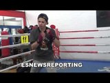 ryan garcia sick hand speed over 60 punches in 10 seconds EsNews Boxing