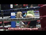 """Anthony """"Speedy"""" Casillas MAKES OPPONENT QUIT FOR PRO DEBUT IN Mexico - EsNews Boxing"""
