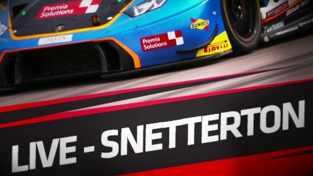 LIVE - SNETTERTON  - BRITISH GT - Race 1 & 2