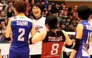JT吉原監督vs日立松田監督【Vプレミアリーグ゙オールスターゲーム】2017.3.25深谷ビッグタートル