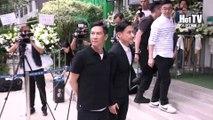 Nhà tang lễ Hong Kong chiều tối 26/05/2017: Lễ tang đàn chị showbiz Trần Bội Hoa ( 陳佩華 )- Lưu Đức Hoa, Hồng Kim Bảo chốn