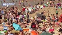 Avec le soleil, les plages de la Baie de Somme sont pleines à craquer