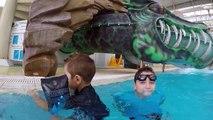 VLOG - TOBOGGANS AQUATIQUES & FUN - Parc Aquatique Hôtel Explorer