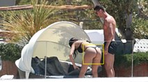 Cristiano Ronaldo & Georgina Rodriguez On The Beach [ Cristiano Ronaldo's New Girlfriend ]