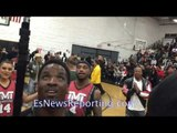 Singer forgets the words of National Anthem floyd mayweather saves the day!  - EsNews Boxing