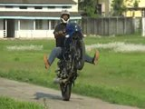 Awesome Wheelies And....Stoppies | Bike Stunt
