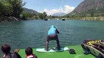 Hautes-Alpes : Un week-end sportif au wakepark des 3 lacs à Rochebrune