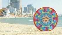 This pop-up beach blanket solves every pet peeve about laying in the sand