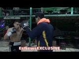 Ivan Morales OPENS UP ON BROTHER Erik Morales; DOES SLICK MITT WORK - EsNews Boxing