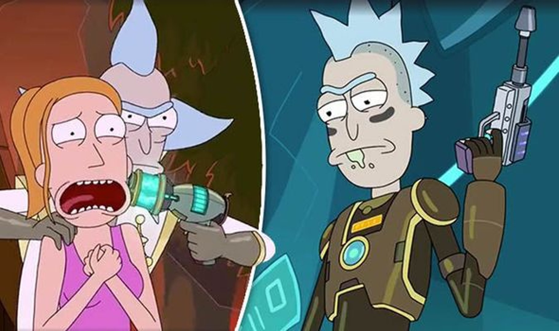 Rick And Morty Season 3 Episode 9 Eps 9 English Subtitles Video Dailymotion Aliens send rick, morty and jerry into an alternate reality, and rick tries to get them out as oblivious jerry pitches a marketing slogan for apples. dailymotion