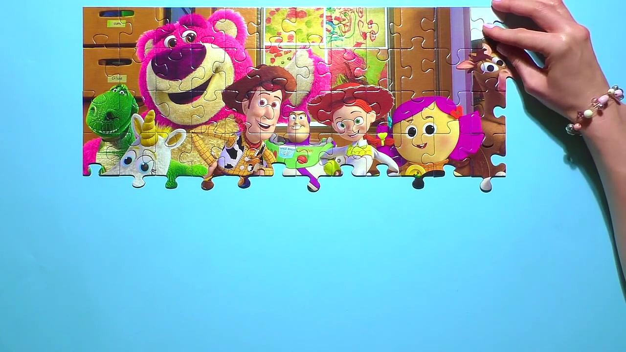 Learn Puzzle TOY STORY Potato Head, Wooasdsady, Buzz Lightyea