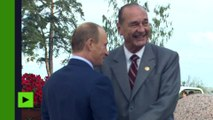 De Jacques Chirac à Emmanuel Macron : Vladimir Poutine a rencontré un quatrième président français