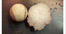 Baseball-Sized Hail Batters Adrian, Missouri