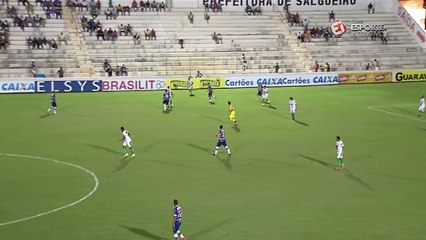 Tamandaré aplica lindo drible no confronto entre Salgueiro e Fortaleza, pela Série C