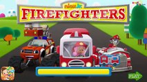 Nick Jr. Firefighters - Play & Learn Animals Shapes & Firefighter Tools Paw Patrol Blaze and Molly