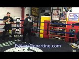 Karo Murat fighting on HBO Latino workout - EsNews Boxing