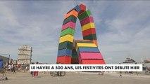 Le Havre fête ses 500 ans entre œuvres d'art et festivités - France