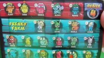 Zomlings Surprise Blind Bags Toys Opening #2 Series 4 - Sobres sorpresa Zomlings