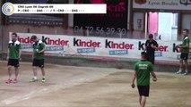 Epreuve d'appui, CRO Lyon contre Zrinjevac Zagreb, 1/4 finale retour, Coupe d'Europe des Clubs 2017, Sport Boules, Lyon 2017
