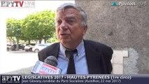 HPyTv Législatives | Jean Glavany candidat PS Hautes-Pyrénées 1 (22 mai 2017)