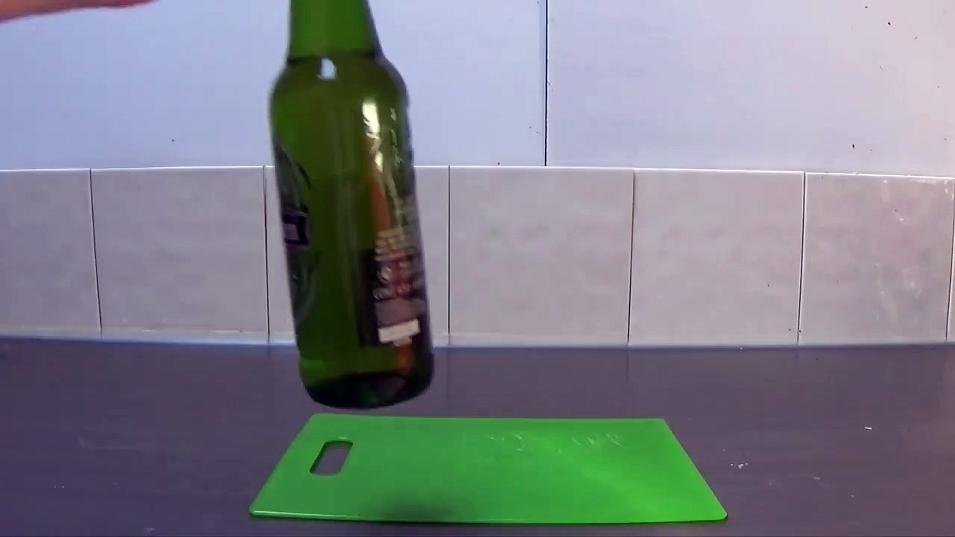How To Open a Bottle Without a Bottle Ope