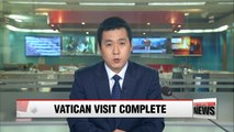 Pope 'greatly interested' in peace on Korean peninsula: S. Korea's Vatican envoy