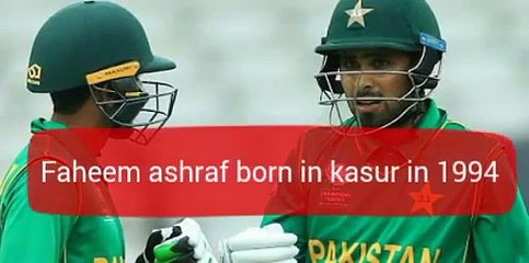 A short documentary on Faheem ashraf Pakistani cricketer faheem ashraf