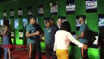 Indian Cricket Team At Sachin Movie GRAND Premiere  MS Dhoni, Yuvraj Singh, Virat Kohli, Ashwin - 2017 Full HD