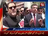 PMLN Leaders Media Talk After Hussain Nawaz JIT Q & A