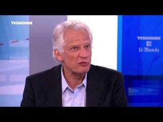 """Dominique de Villepin sur TV5MONDE : """"Une intervention déséquilibrée au Mali"""""""